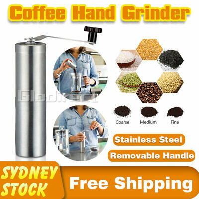 AU25.99 • Buy Coffee Bean Grinder Manual Hand Spice Nuts Grinding Mill Tool Portable 2020