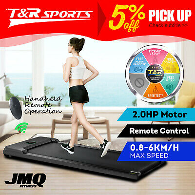 AU299.99 • Buy T100 2-in-1 Electric Treadmill Under Desk Home Office Exercise Walking Machine