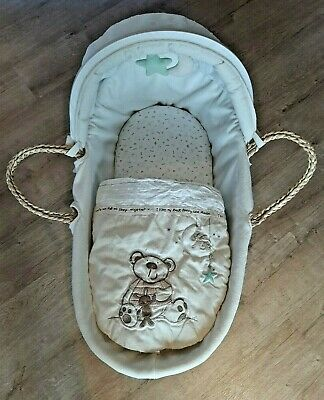 Bruin I Love My Bear Moses Basket & Bedding • 21.95£
