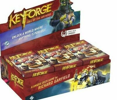 $ CDN88.86 • Buy KEYFORGE CALL OF ARCHONS 12 Deck DISPLAY Factory Sealed NEW USA
