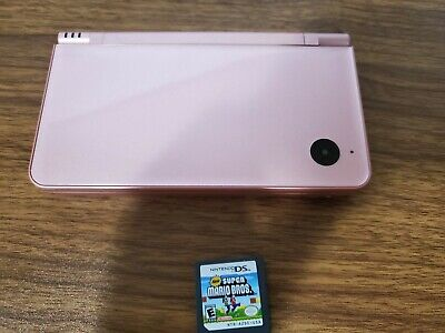 $90 • Buy Nintendo DSi XL Metallic Rose Handheld System With One Game