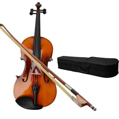 $36.89 • Buy 15  Inch Acoustic Viola Set With Case + Rosin + Bow Brown