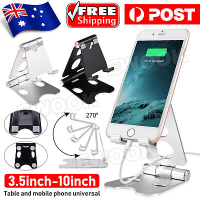 AU8.95 • Buy New Universal Folding Aluminum Tablet Mount Holder Stand For IPad IPhone Samsung