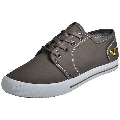 Boys VOI JEANS BRONSON Plimsolls / Pumps  GREY SIZE UK4 EU37 + Shoe Bag £11.95 • 11.95£