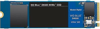 WD Blue SN550 500GB High-Performance M.2 Pcie NVMe SSD, NEW, WDS500G2B0C • 59.75£