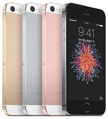 Apple IPhone SE | Boxed Mobile Smartphone/Handset (Model A1723) | HEAVILY USED • 61£