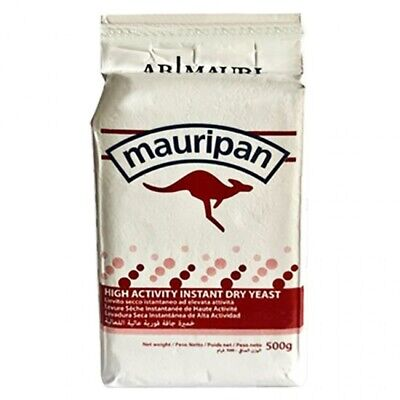 """Mauripan Instant Dried Yeast 500g Fast Acting For Bread, Bakery """"WEEKEND OFFER"""" • 7.29£"""