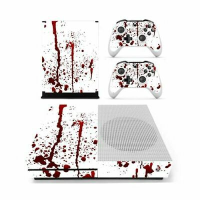 $10.99 • Buy Bloody Vinyl Decal Skin Stickers Cover For Xbox One S Console & 2 Controllers US