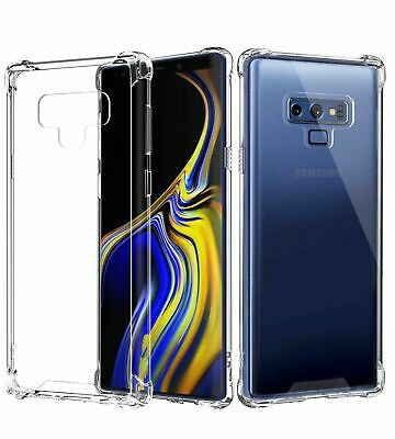 $ CDN2.38 • Buy CLEAR Case For Samsung Galaxy S10 S10e S9 S8 Note 8 9  Silicone Gel Shockproof