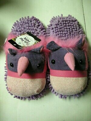 AU25.93 • Buy Unicorn Slippers, Ladies, By Fun For Feet, Size 9.5, Brand New