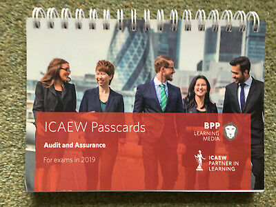 ICAEW Passcards 2019 Audit And Assurance BPP Learning Media • 3.50£
