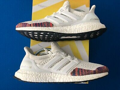 $175 • Buy Adidas Ultra Boost 1.0 White Rainbow Multi OG Size 9.5
