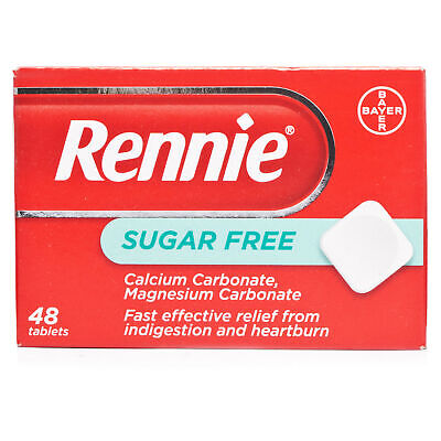 Rennie Sugar Free 48 Tablets • 7.30£