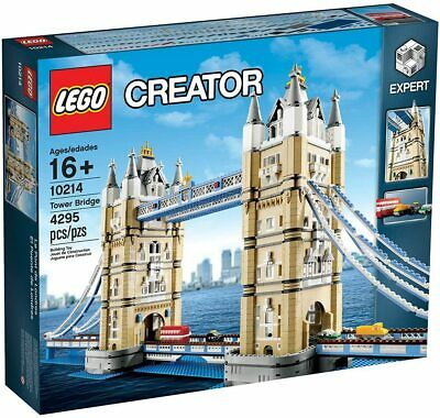 LEGO Creator London Tower Bridge 10214 Building Kit 4295 Pcs NEW • 543.59£