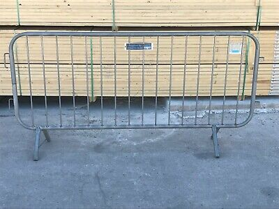 Fixed Leg Crowd Barriers • 25£