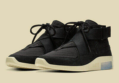 $238.44 • Buy Nike Air Fear Of God Fog Raid Casual Shoes Black Fossil AT8087-002 Men's NEW