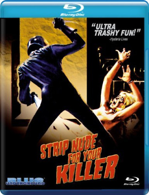 `FENECH,EDWIGE`-STRIP NUDE FOR YOUR KILLER (US IMPORT) Blu-Ray NEW • 14.71£