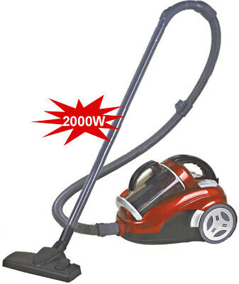 £119.99 • Buy 2000W Cyclonic Bagless Vacuum Cleaner,18Kpa Powerful Compact 4 Filtration System