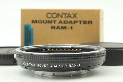 $ CDN415.29 • Buy 【Top Mint In Box】 Contax Mount Adapter NAM-1 For Contax 645 Lens From Japan #573