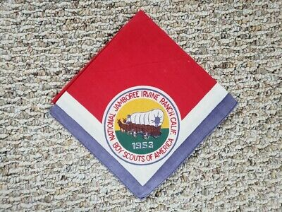 1953 Boy Scout National Jamboree Neckerchief • 18.41£
