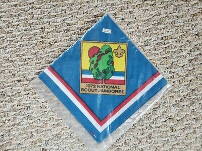 1973 Boy Scout National Jamboree Neckerchief • 14.73£