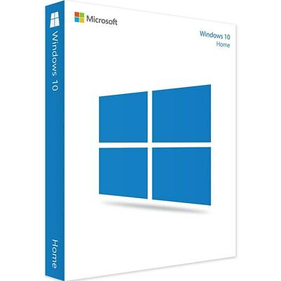 $ CDN108.82 • Buy Microsoft Windows 10 Home /1 License Product Key Card En 32/64-bit