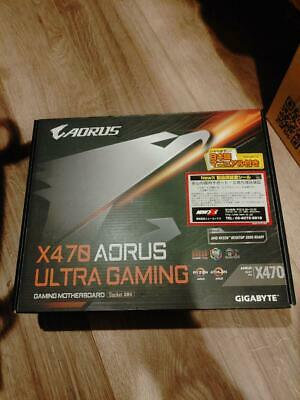 AU353.92 • Buy GIGABYTE X470 AORUS ULTRA GAMING ATX Gaming Motherboard MB4379 NEW