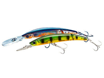 Yo-Zuri Crystal 3D Minnow Deep Diver Jointed 13cm 25g Floating Lure Trolling • 20.22£
