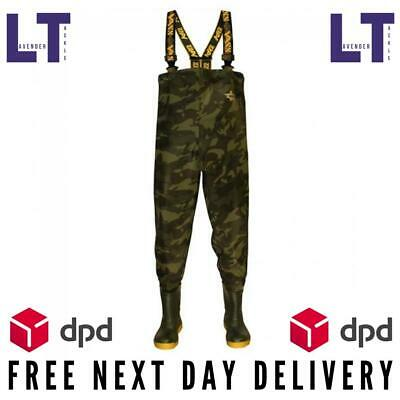Vass-Tex NEW 355 Lightweight Camo Chest Waders -*All Sizes Available*- FREE P+P • 99.95£