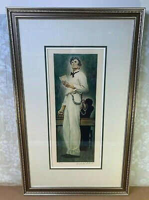 $ CDN7795.03 • Buy Norman Rockwell Lincoln For The Defense Ltd Ed Lithograph # 55/200 Hand Signed