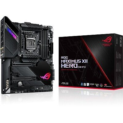 CCL ASUS ROG Maximus XII Hero (Wi-Fi) 4.5GHz Intel I5 10500 - Motherboard Bundle • 643£