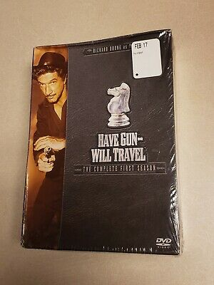 $14.95 • Buy Have Gun Will Travel - The Complete First Season (DVD, 2004, 6-Disc Set)