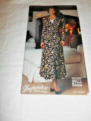 $14.99 • Buy Frederick's OfHollywood Lingerie And Fashion Catalog 1995 # 283-253 VGUC