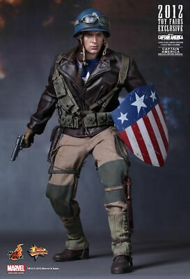 $ CDN749.99 • Buy HOT TOYS Captain America RESCUE UNIFORM MMS180 Sideshow 1:6 Sixth Scale 12  -NEW