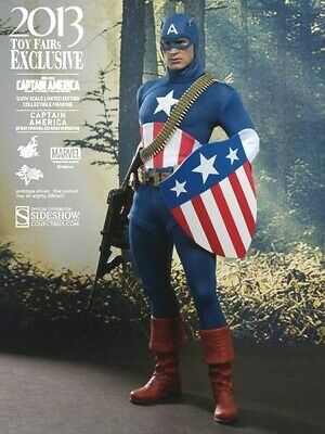 $ CDN499.99 • Buy HOT TOYS Captain America -Star Spangled Man MMS205 Sideshow 1:6 Sixth Scale -NEW