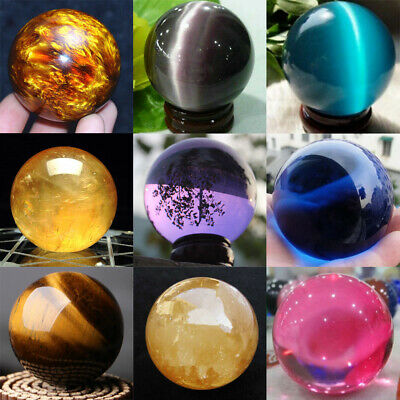 Photography Crystal Ball Sphere Decoration Natural Healing Stone Rare Quartz Lot • 3.79£