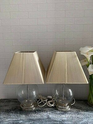 Bedside Glass Ball Lamps • 30£