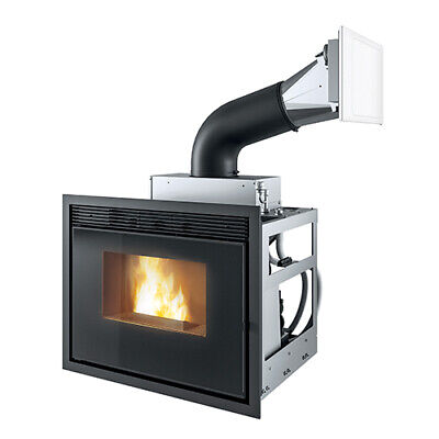 Insert Pellet Fireplace Stove MCZ Vivo 80 Hydro 16,7 Kw Hydro - Pellet Stove • 2,479.68£