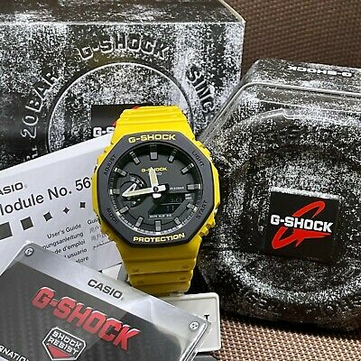 $166 • Buy Casio G-Shock GA-2110SU-9A New Dual-layer Molded Bezel Cover Thin Case Watch