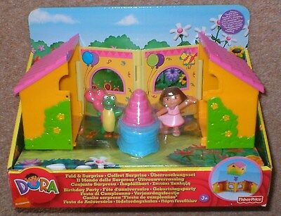 Dora The Explorer Fold & Surprise Birthday Party Mint Condition New Unused Bnib • 14.99£
