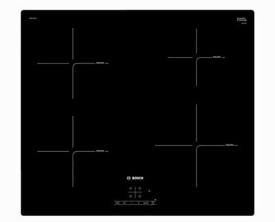 Bosch Serie 4 PUE611BF1B Electric Induction Hob - Black • 275£