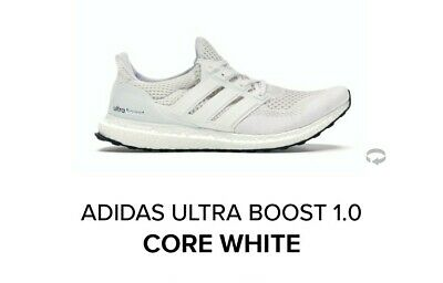 $220 • Buy Adidas Ultra Boost 1.0 Core White OG Size 12 DEADSTOCK