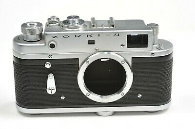 Zorki 4  Rangefinder Camera Body Only,  After CLA Service, From 1972 • 30.20£