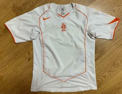 £40 • Buy Nederland 2004/2006 Away Football Shirt Jersey Nike Size M Adult Excellent
