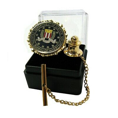 $15 • Buy FBI SEAL TIE TAC W CHAIN  Free Box Included