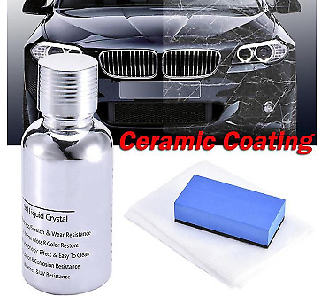 AU59.58 • Buy Nano Car Coating Liquid Glass 9H Crystal Hardness Polish 30ML Bond Ceramic M86