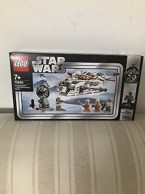 AU145 • Buy Brand New LEGO Star Wars: Snowspeeder - 20th Anniversary Edition (75259)