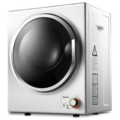 View Details Electric Tumble Compact Laundry Dryer Stainless Steel Wall Mounted 1.5 Cu .ft. • 309.99$