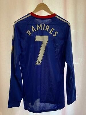 Chelsea London 2010/2011 Home Football Shirt Jersey L/s Size S Ramires #7 • 99.99£