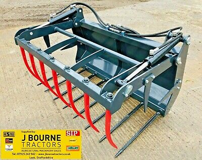 NEW EURO 8 MUCK GRAB ,Choice Of Sizes To Fit Tractor , Massey ,john Deere,bucket • 895£